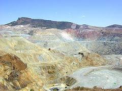 Mineração a céu aberto