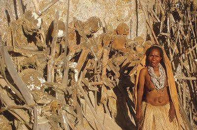 Begravning i Papua Nya Guinea