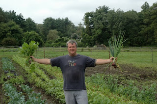 Restaurateur Frank McClelland at his Apple Street Farm