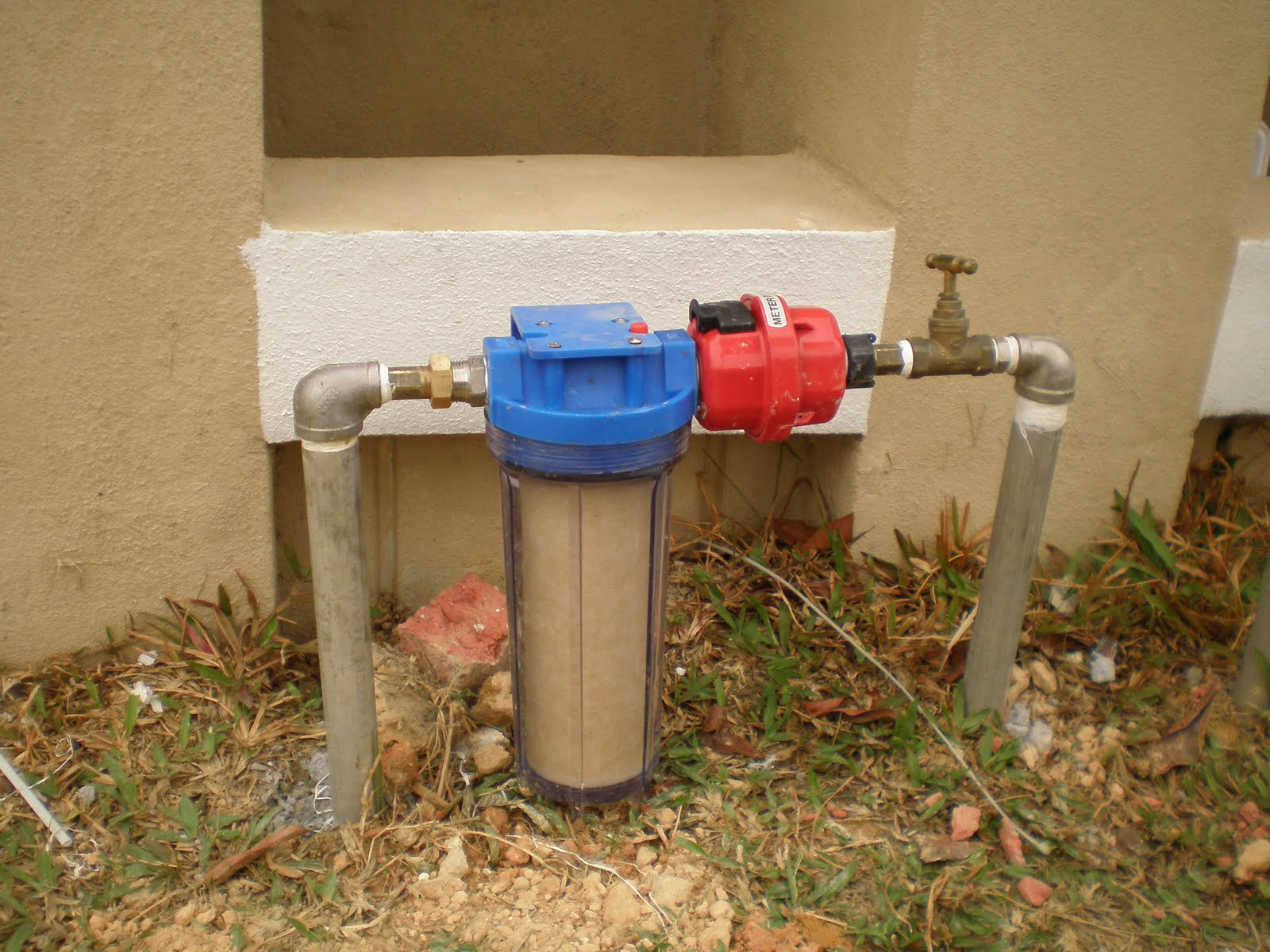 F x ge outdoor water filter for Garden water filter