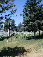 Military cemetery at the Little Big Horn
