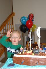 Braxton's 4th Birthday!