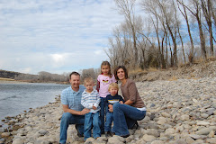 Family at the Snake River