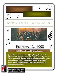 music of the movement flyer