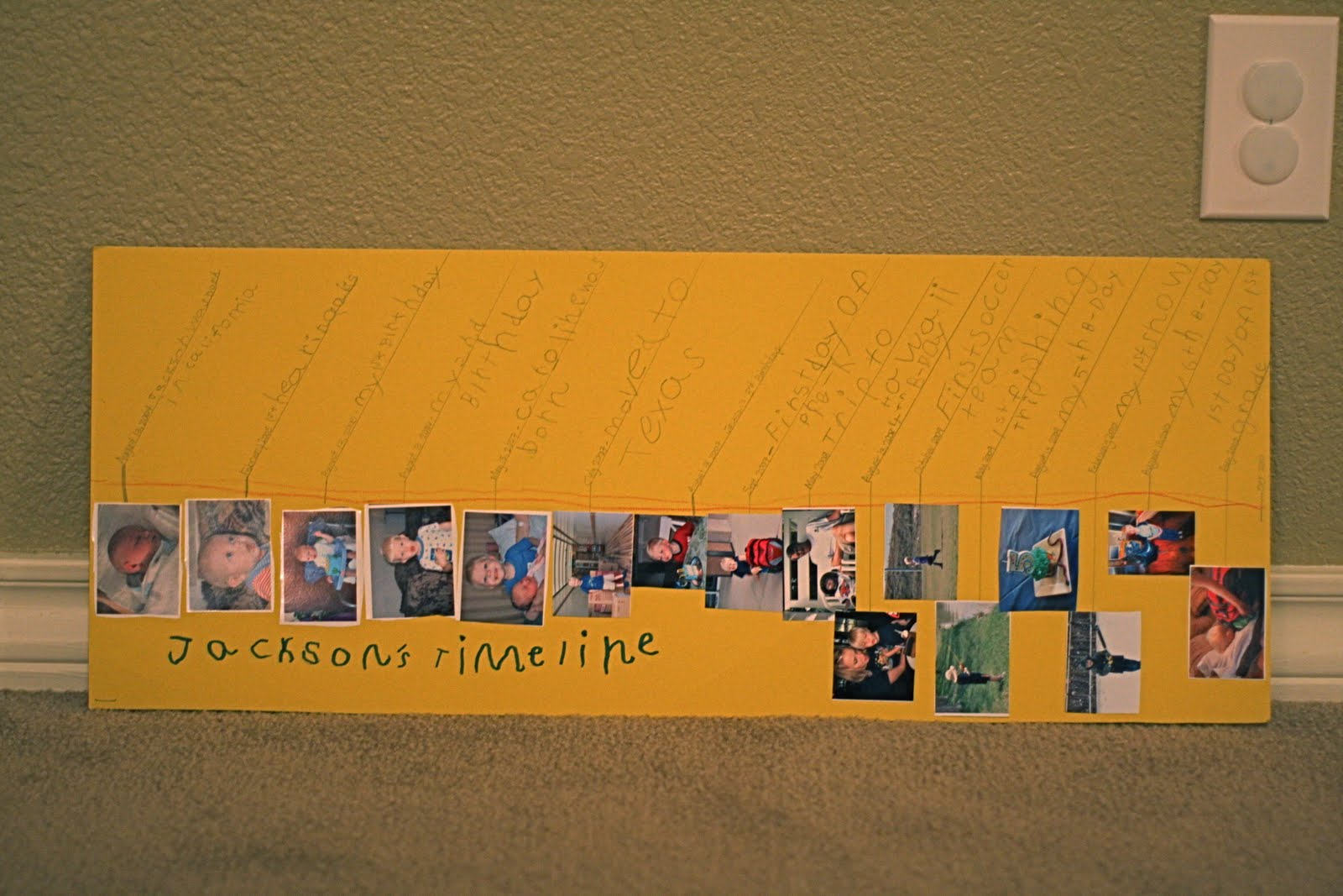 School Timeline Projects http://howard365.blogspot.com/2010/10/day-299-timeline.html