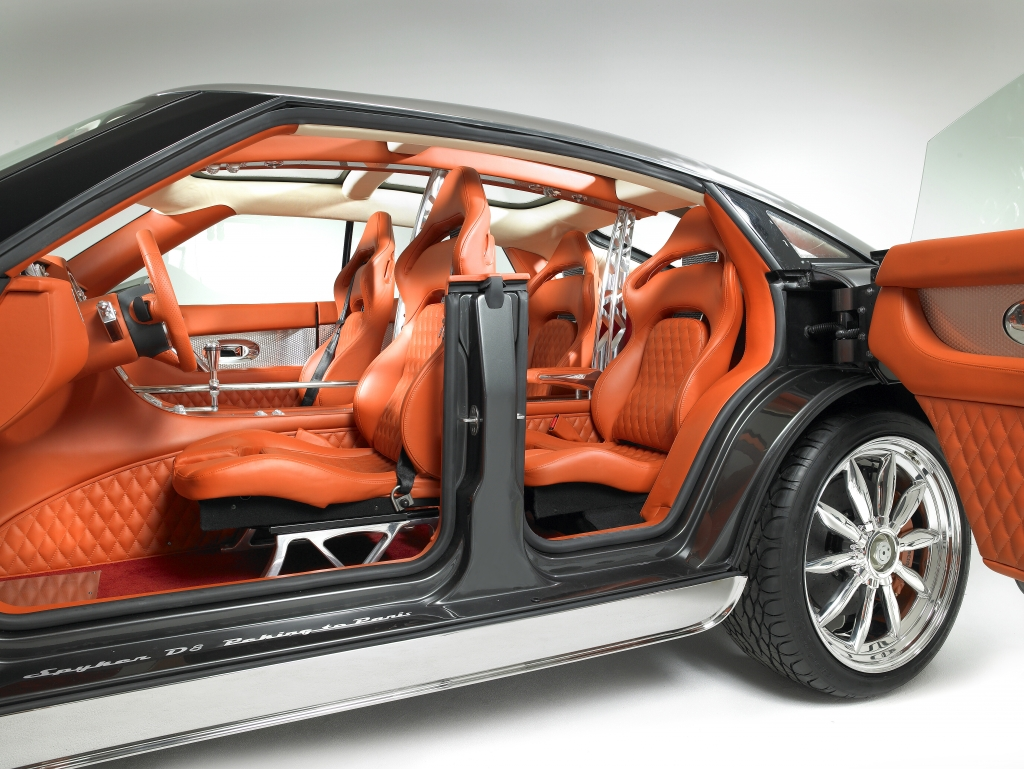 In terms of me spyker cars for the tenacious no road for Custom automotive interior designs