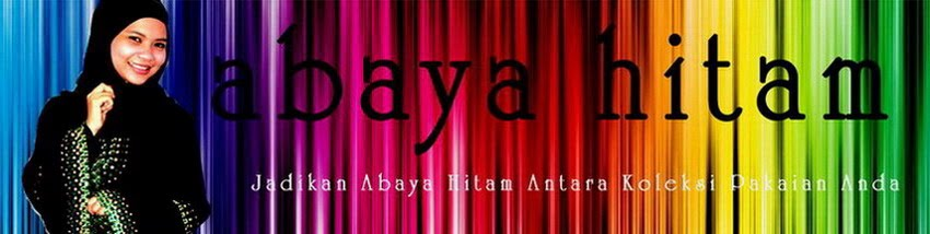 ♥♥♥ Abaya Hitam ♥♥♥