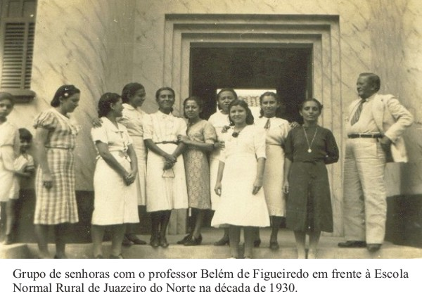 Escola Normal Rural de Juazeiro do Norte década de 1930