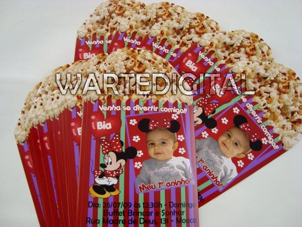 Convites Infantis Personalizados