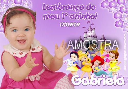 05 - CONVITES INFANTIS E LEMBRANCINHAS W. ARTE DIGITAL
