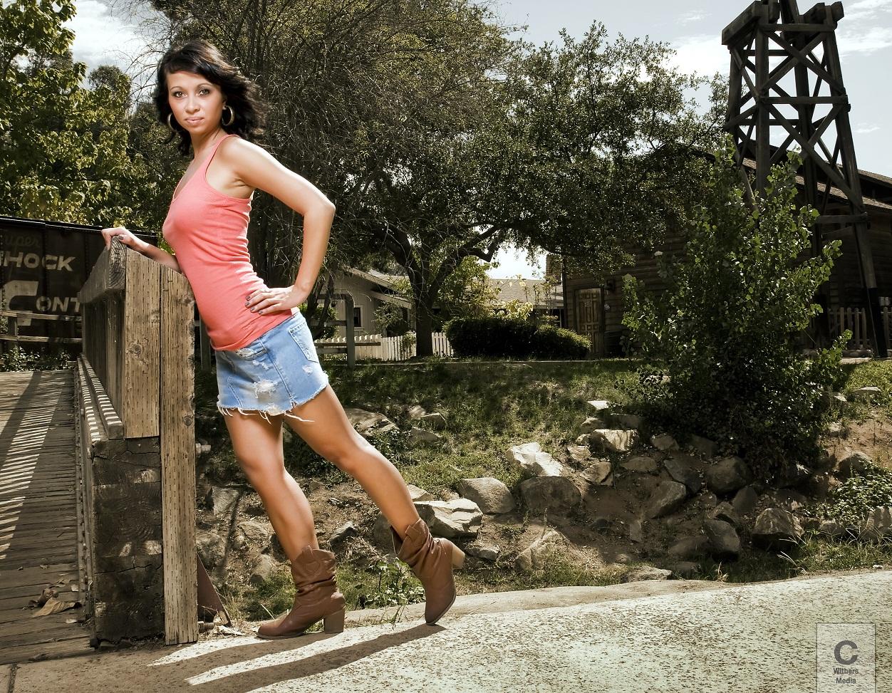 Natasha Curry - Model Life
