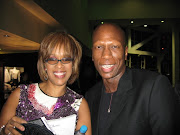 GAYLE KING, OPRAH'S BFF AND BRAD BAILEY AT THE GRAMMYS