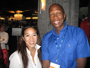 BRAD BAILEY AND OLYMPIAN  MICHELLE KWAN