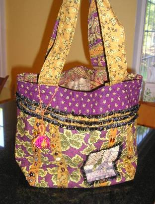 2007 Fabric Bag swap #1