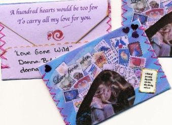 Love Gone WIld ATC swap Winner for 'most creative' is Donna Butcher!