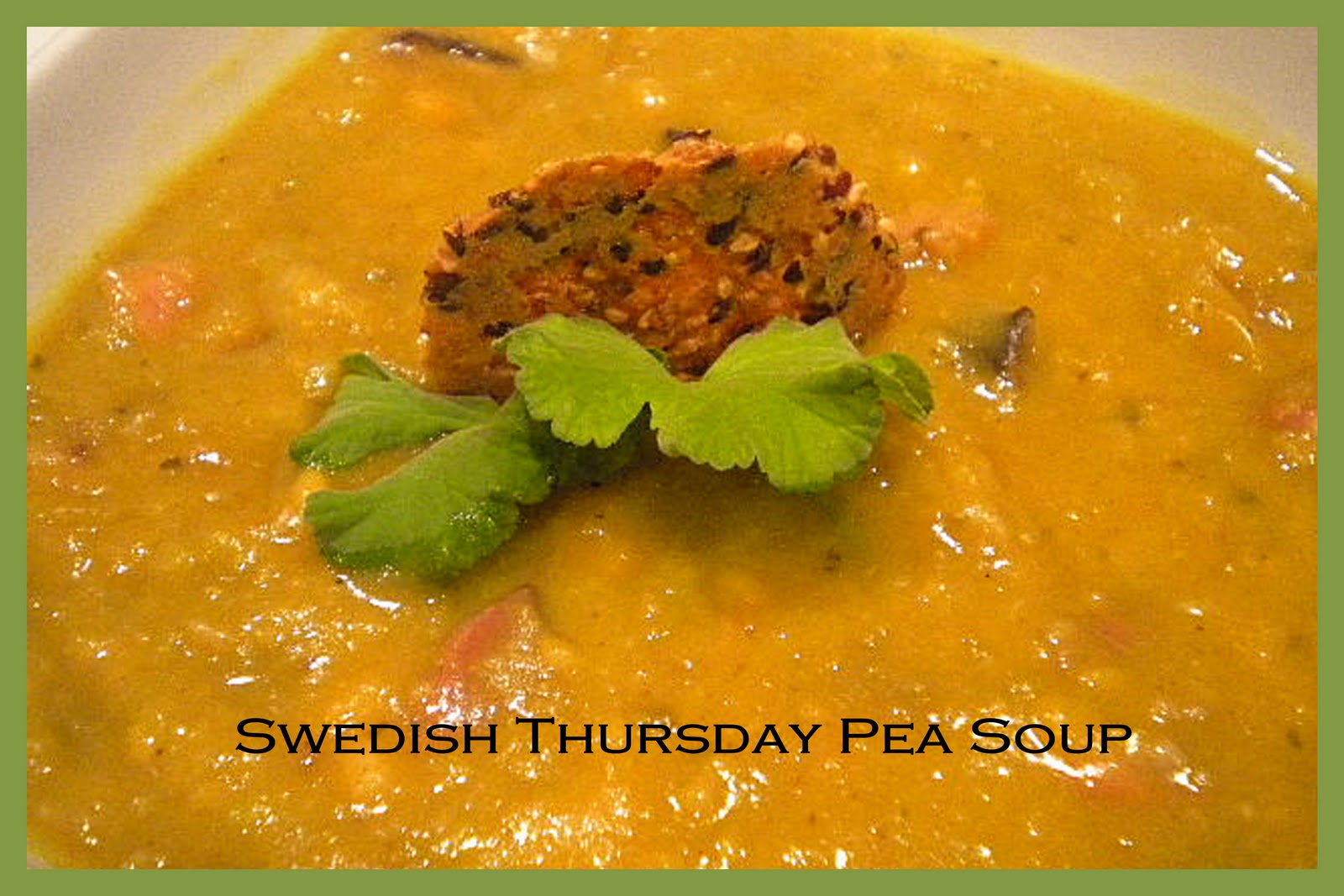 "Swedish Split Pea Soup ""Artsoppa"" Recipe — Dishmaps"
