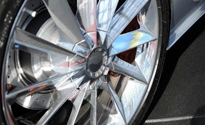 2010 Spyker C8 Aileron Wheel