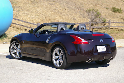 2010 Nissan 370Z Roadster Rear Angle View