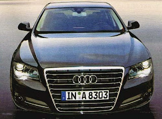 Audi A8 Front View