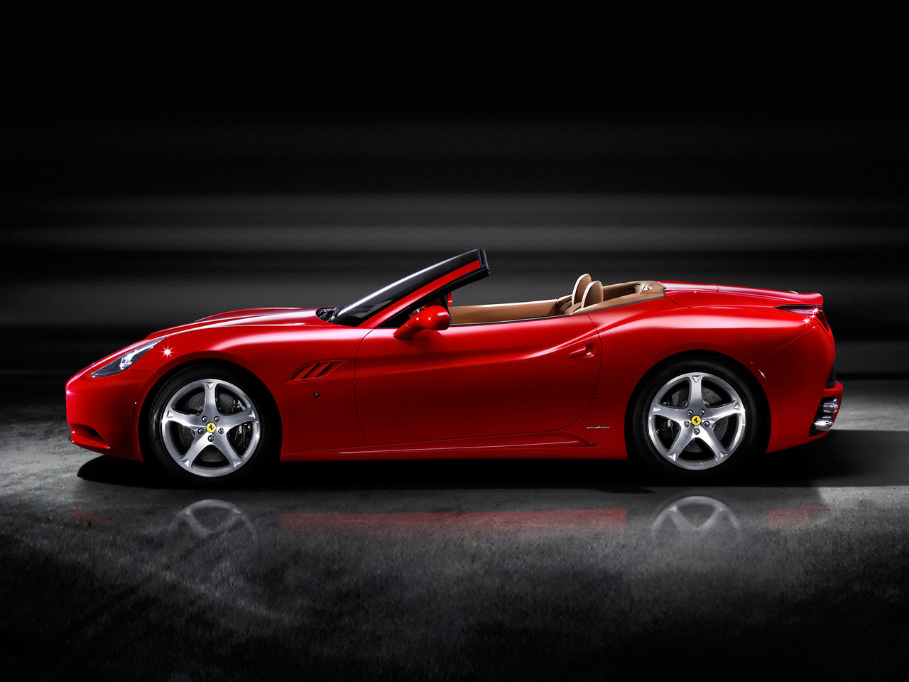 Net Car Show 2009 Ferrari California Wallpaper