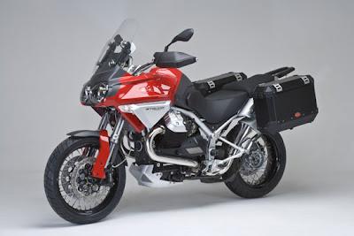 2009 Moto Guzzi Stelvio 1200 4V Front Side View