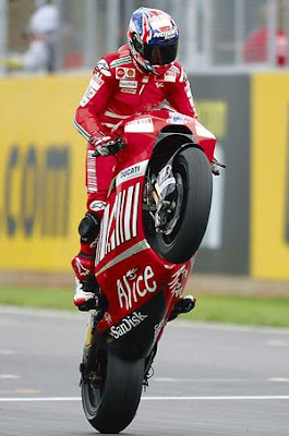 Casey Stoner Champion Team Ducati