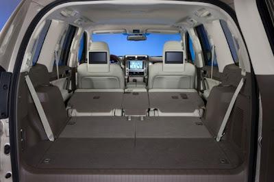 2010 Lexus GX 460 Interior View