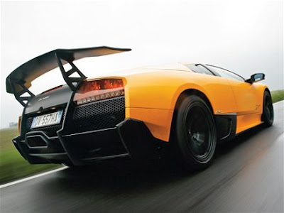 2010 Lamborghini Murcielago LP670-4 Rear View