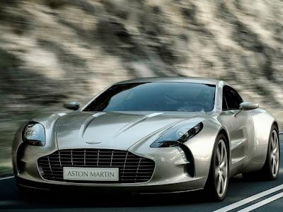2010 Aston Martin One-77 Front View