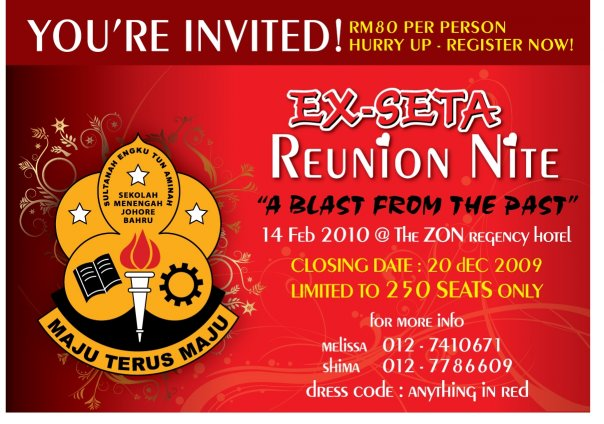 Ex-SM SETA Gathering Party