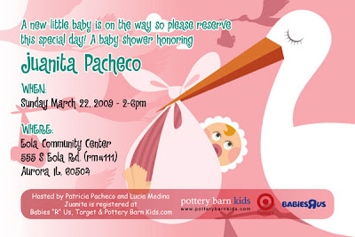 Invitation Designer on Baby Shower Invitation Design  Chicago  Il Graphic Designer  Children
