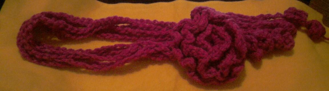 Vendo Bufandas de estambre tejidas a mano 18b2a0761fd