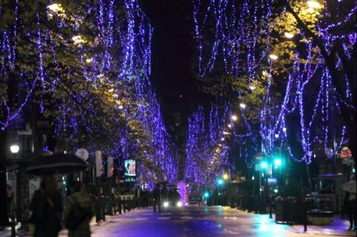 Lugares con encanto bilbao se viste de navidad - Arboles pais vasco ...