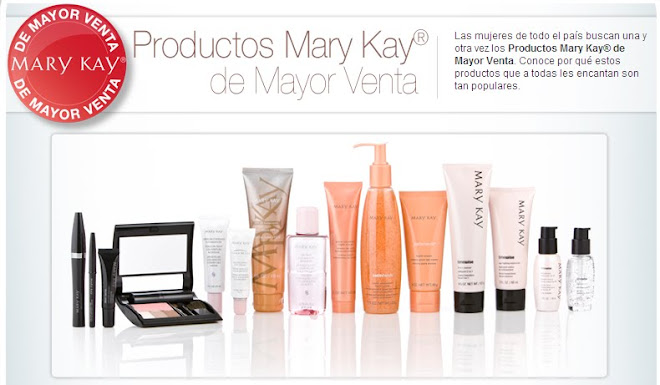 PRODUCTOS MARY KAY!!! DE MAYOR VENTA