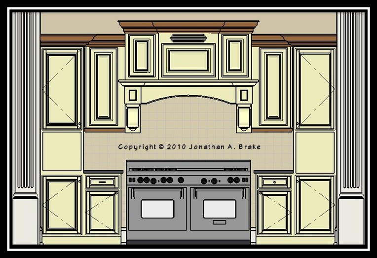The mansion project family kitchen a teaser for Kitchen cabinet section