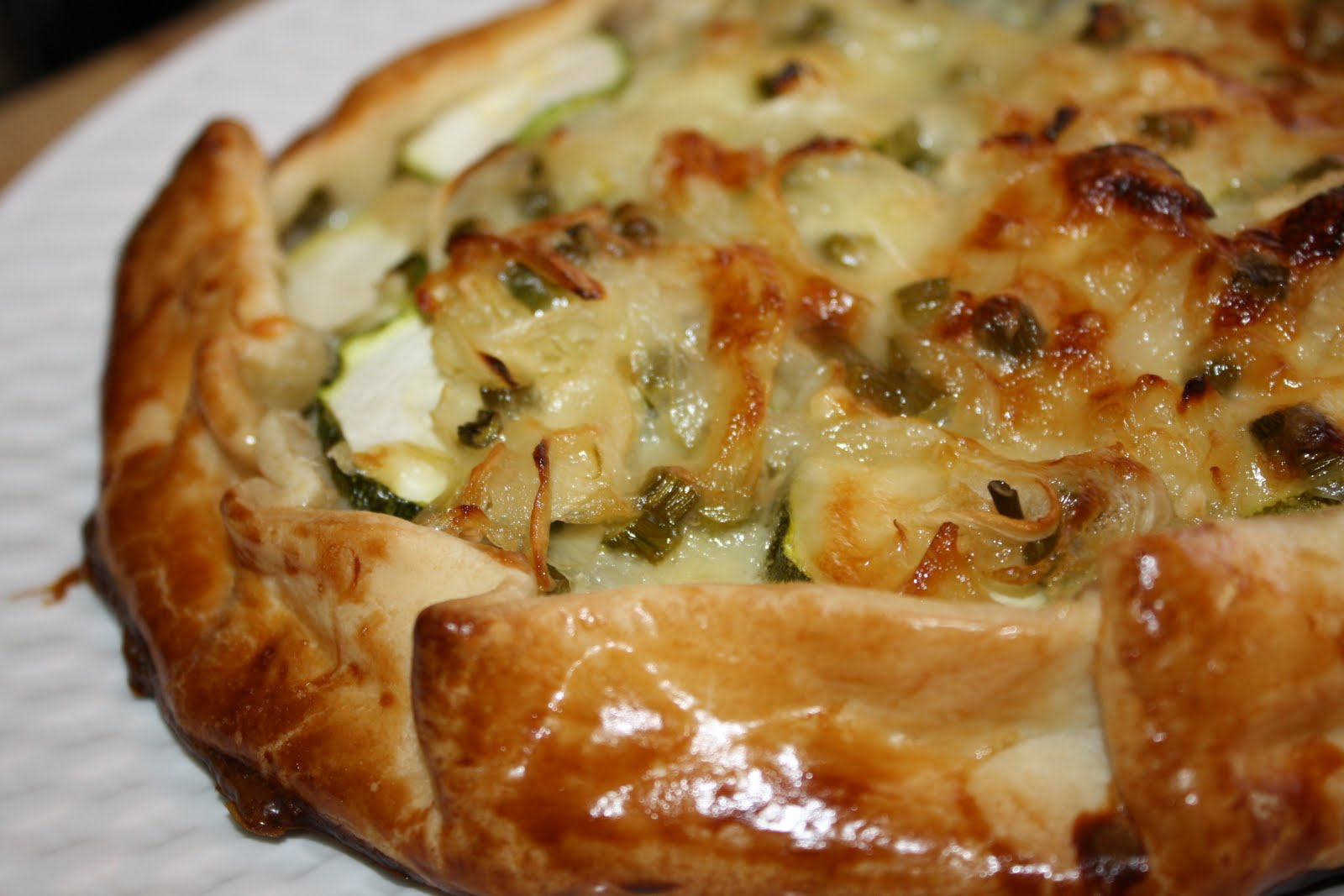 Zucchini And Ricotta Galette Recipe — Dishmaps
