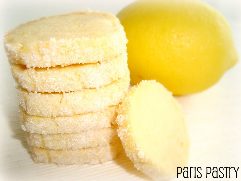 Paris Pastry: Lemon Butter Cookies