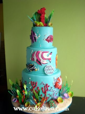Delicious Birthday Cake In Waikiki