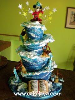 Fantasia Wedding Cake