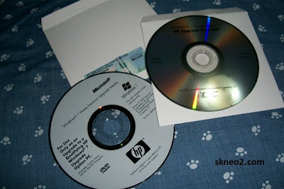 CD con Drivers de HP
