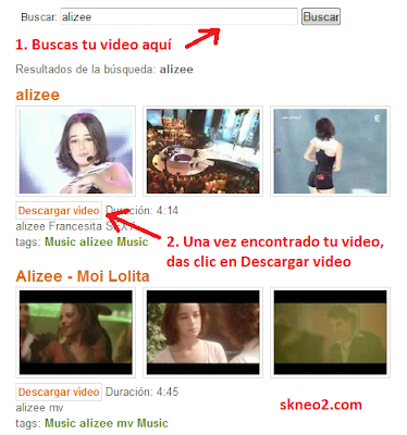 Bajar videos de YouTube - Videos para Celular - Parte A