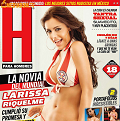 Fotos de Larissa Riquelme Revista H Agosto 2010