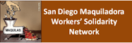 Red de San Diego en Solidaridad con los y las Trabajadoras de la Maquila