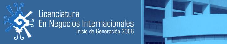 Negocios Internacionales 2006