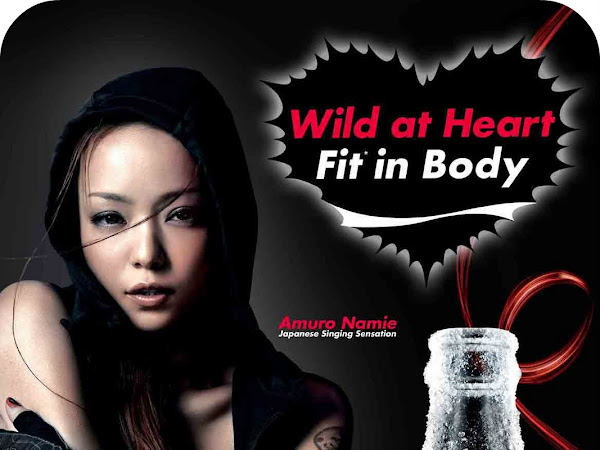 Wild at Heart, Fit in Body: Bench with Coke Zero