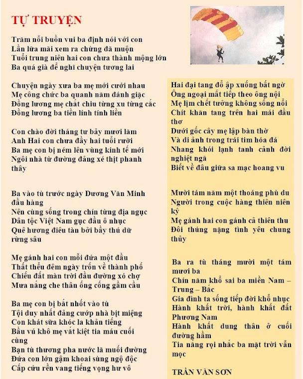 Thơ Trần Văn Sơn