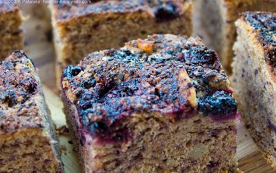 blueberry bluebird bread