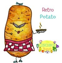 Retro Potato with Pie
