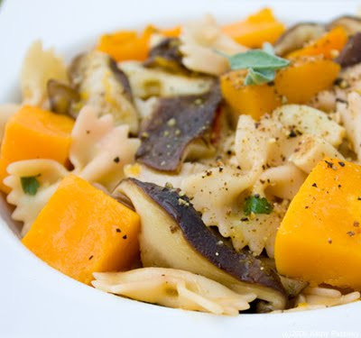 Fall Pasta: Butternut Squash, Sage, Shiitake & my Secret...