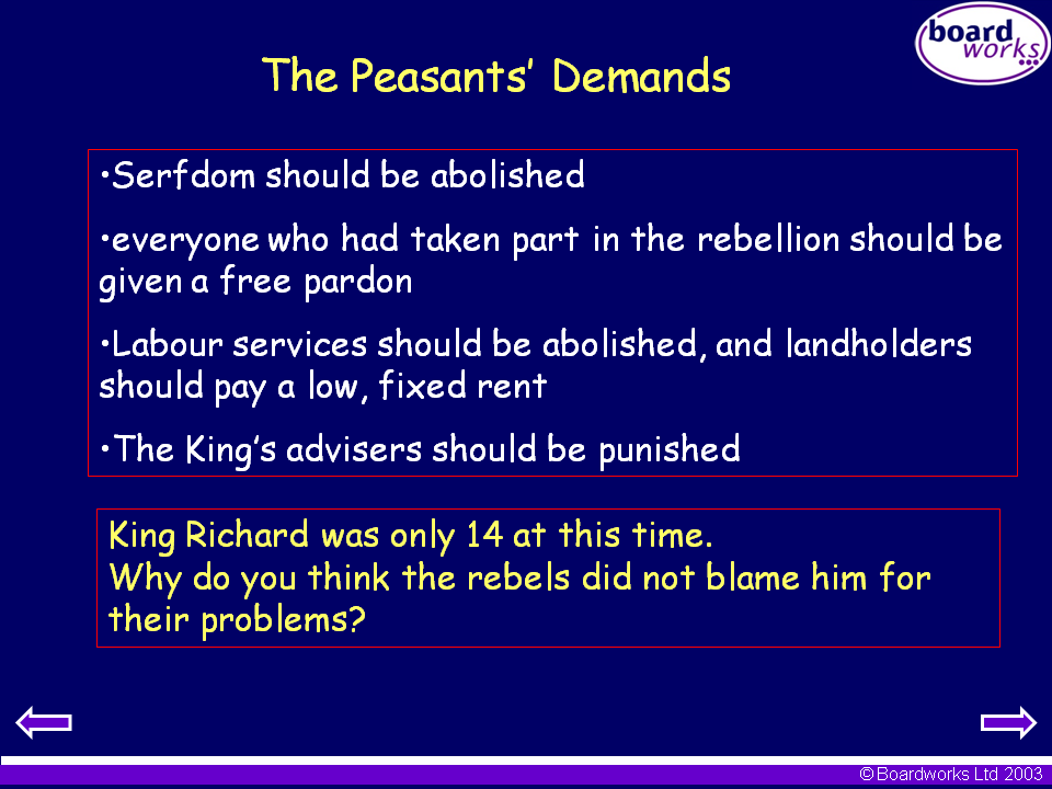 the peasants revolt and the decline of serfdom essay The peasants' revolt the phrases emphasised the rebel opposition to the continuation of serfdom and to the hierarchies of the church and state that separated.
